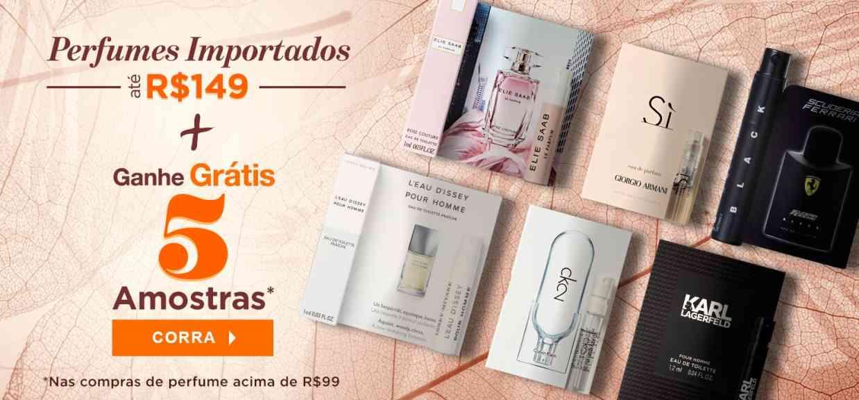 Perfumes: Perfumes Importados 5 amostras