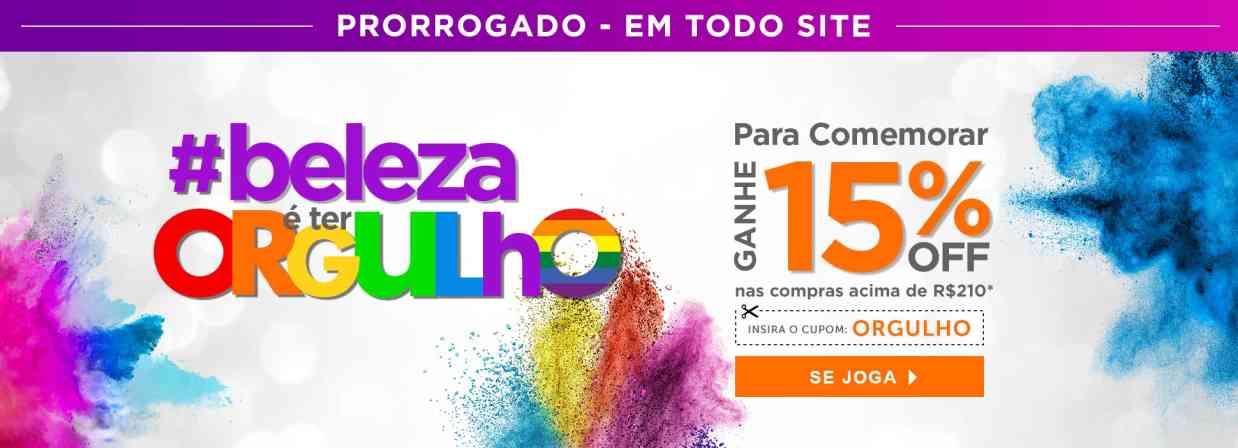 Home: Orgulho Gay - Prorrogado