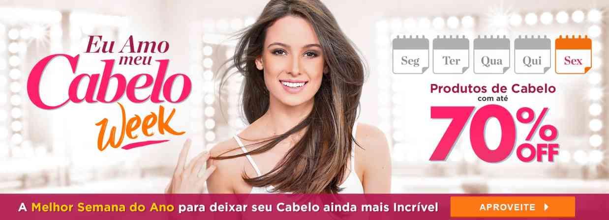 Home: Cabelo Week 70%OFF SEXTA