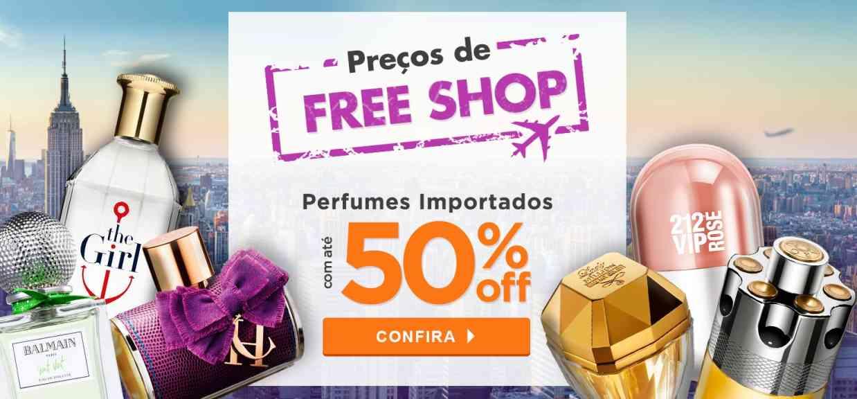 Perfumes: Preços de Freeshop Agosto