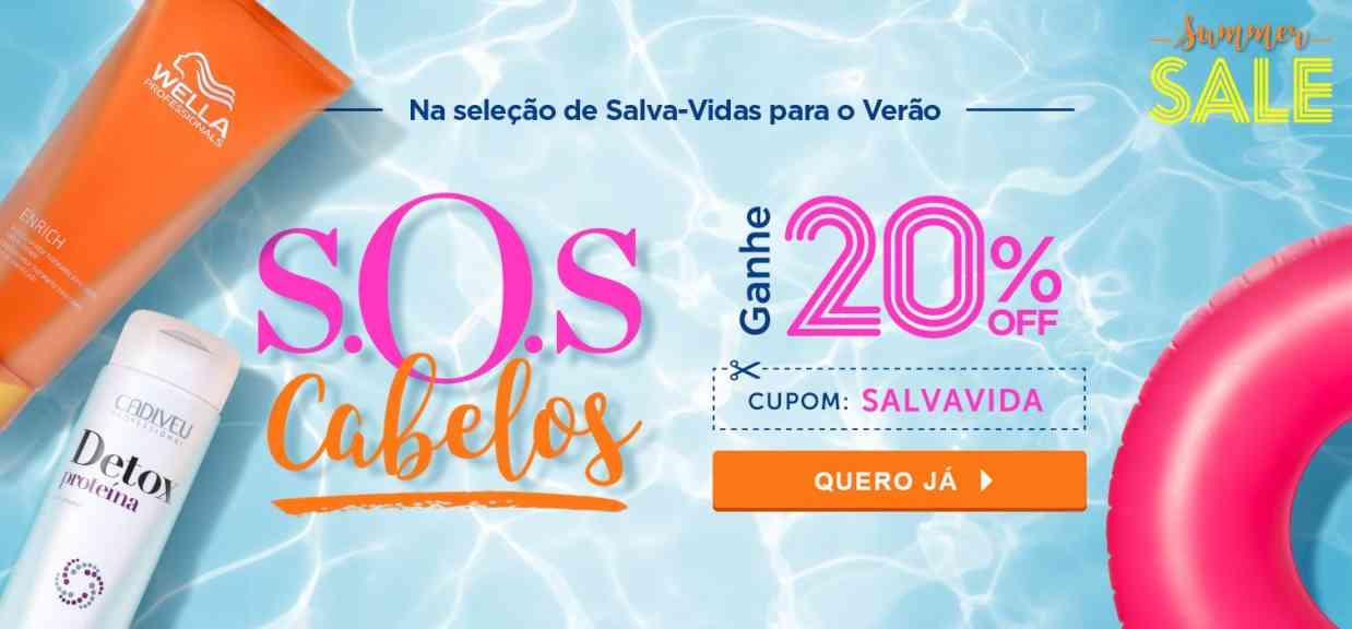 Cabelos: SOS Summer Sale
