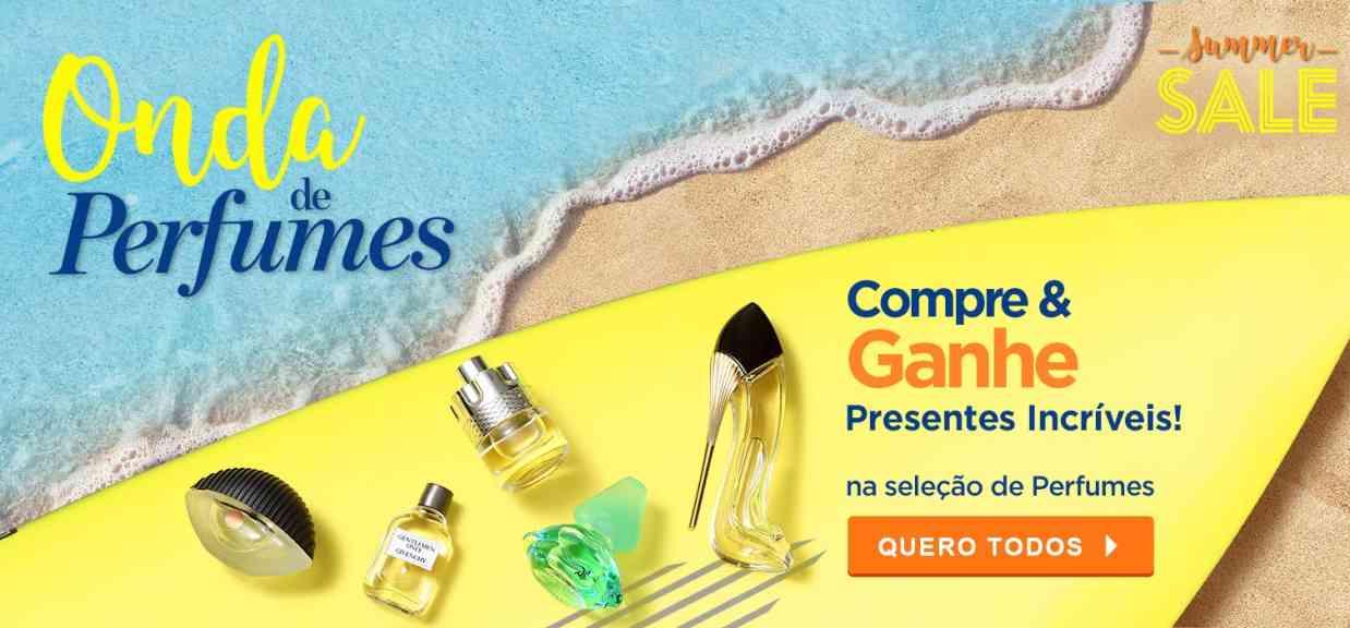 Perfumes: Onda de Brindes