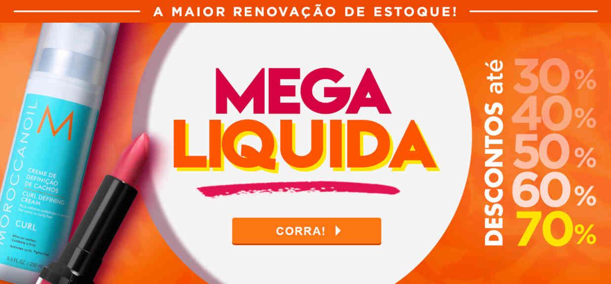 Maquiagem: MEGA LIQUIDA 2018