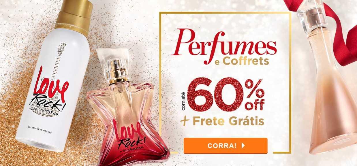 Perfumes: Perfumes e Coffrets com até 60% off
