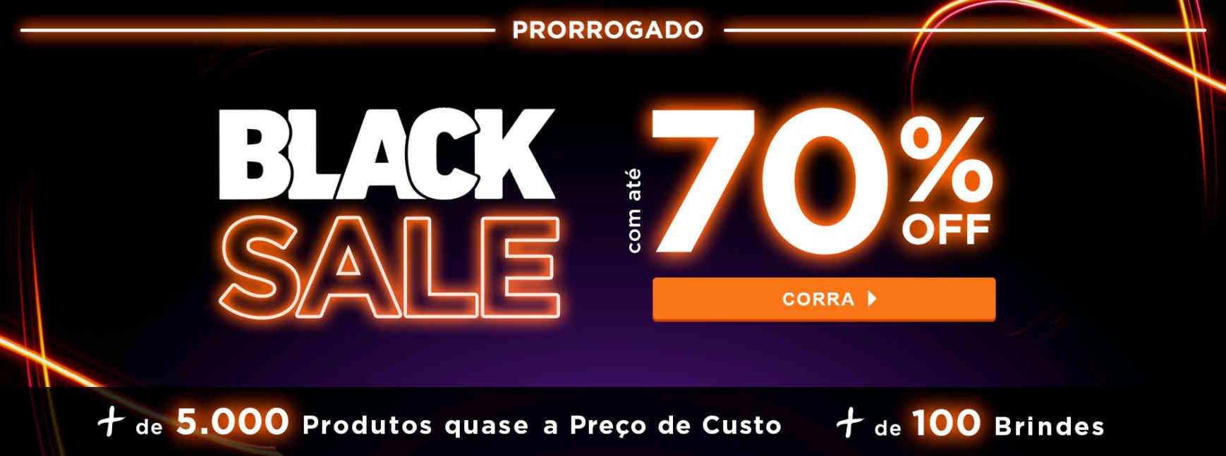 Pele: Blacksale com até 70%off PRORROGADO