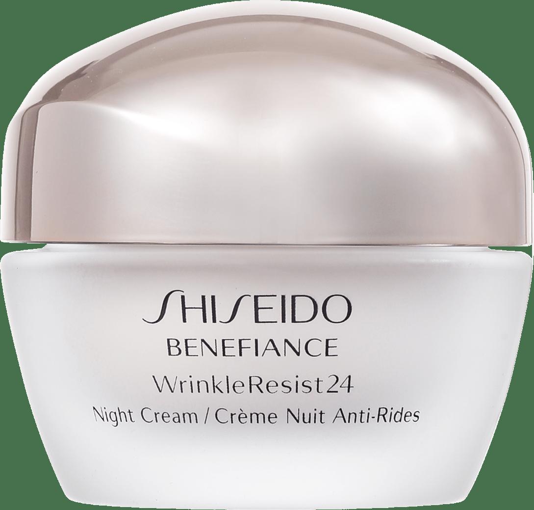creme anti idade shiseido wrinkle resist24 night beleza. Black Bedroom Furniture Sets. Home Design Ideas