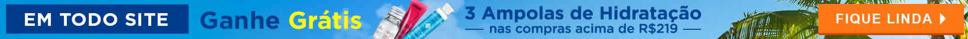 Ganhe 3 Ampolas