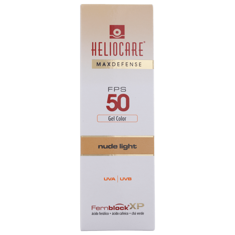 Heliocar--Max-Defense-Gel-Creme-FPS-50-Heliocare-Protetor