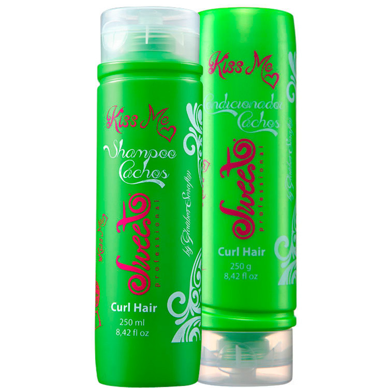 Sweet Hair Kiss Me Curl Hair Duo Kit (2 Produtos)
