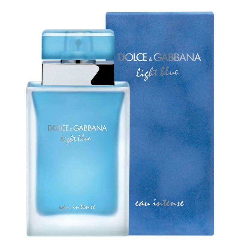 Resultado de imagem para Light Blue Eau Intense Dolce&Gabbana - Perfume Feminino 100