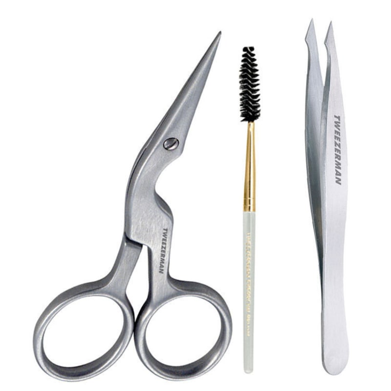 Tweezerman Pointed Sobrancelha Kit (2 Produtos)