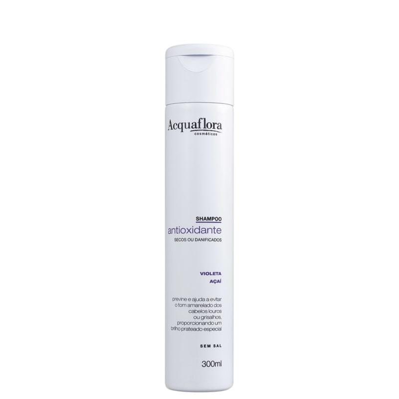 Acquaflora Antioxidante Secos ou Danificados - Shampoo 300ml