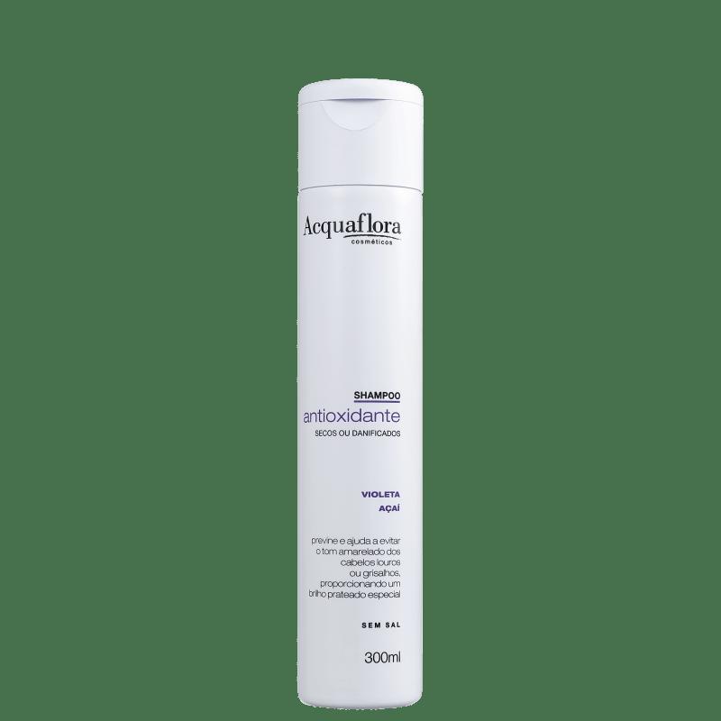 Acquaflora Antioxidante Secos ou Danificados - Shampoo Desamarelador 300ml