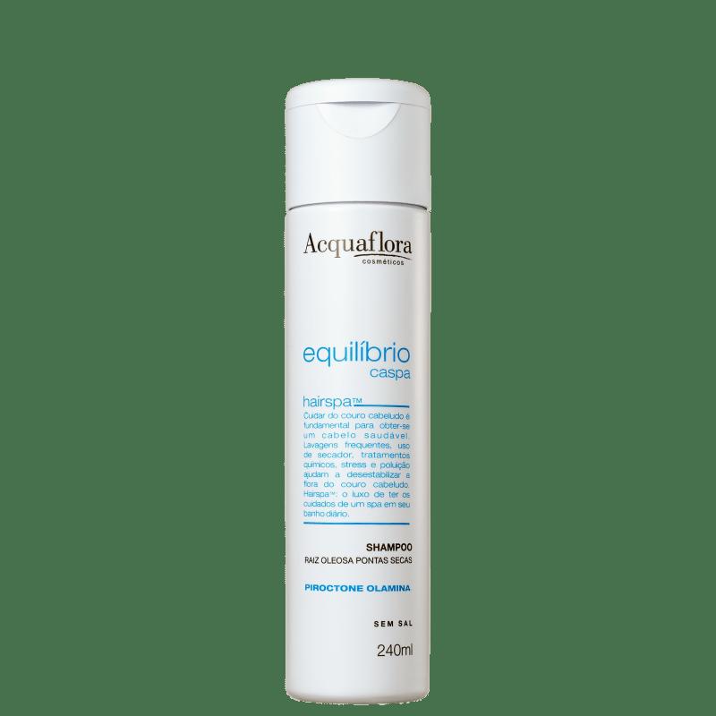 Acquaflora Equilíbrio Caspa Secos e Danificados - Shampoo Anticaspa 240ml