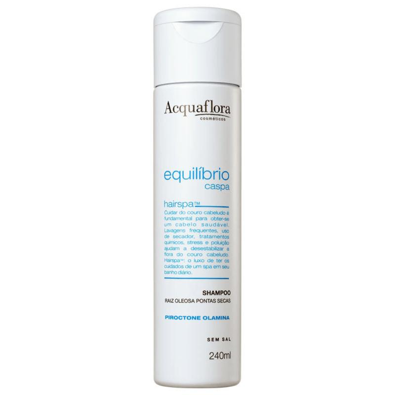 Acquaflora Equilíbrio Caspa Secos e Danificados - Shampoo 240ml