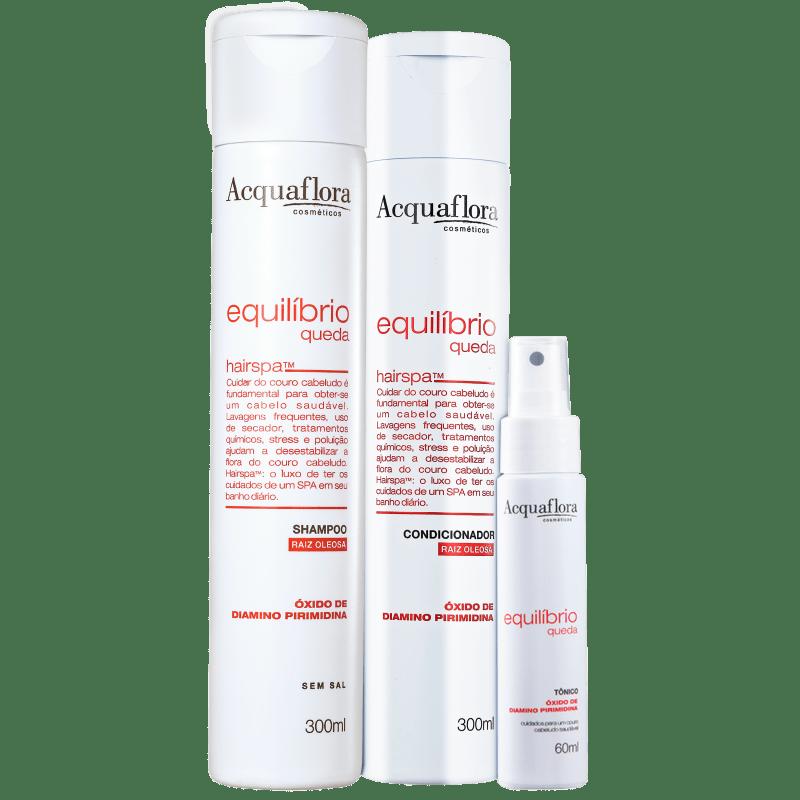 Acquaflora Equilibrio Queda Super Kit (3 Produtos)