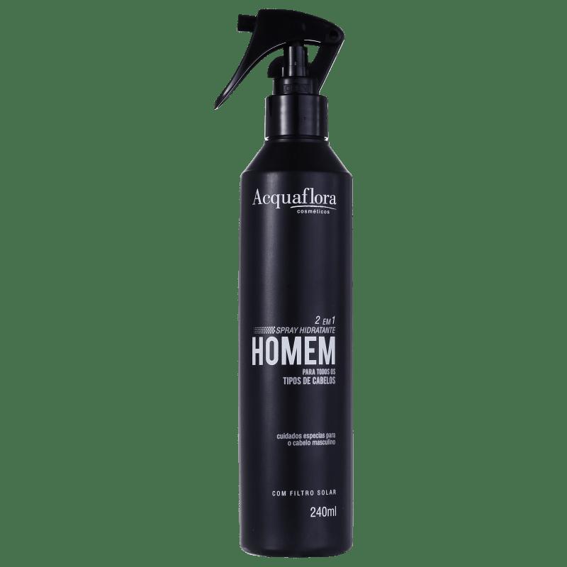 Acquaflora Homem Normais Spray Hidratante 2 Em 1 - Leave-In 240ml