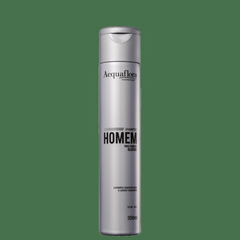 Acquaflora Homem Oleosos - Shampoo 300ml