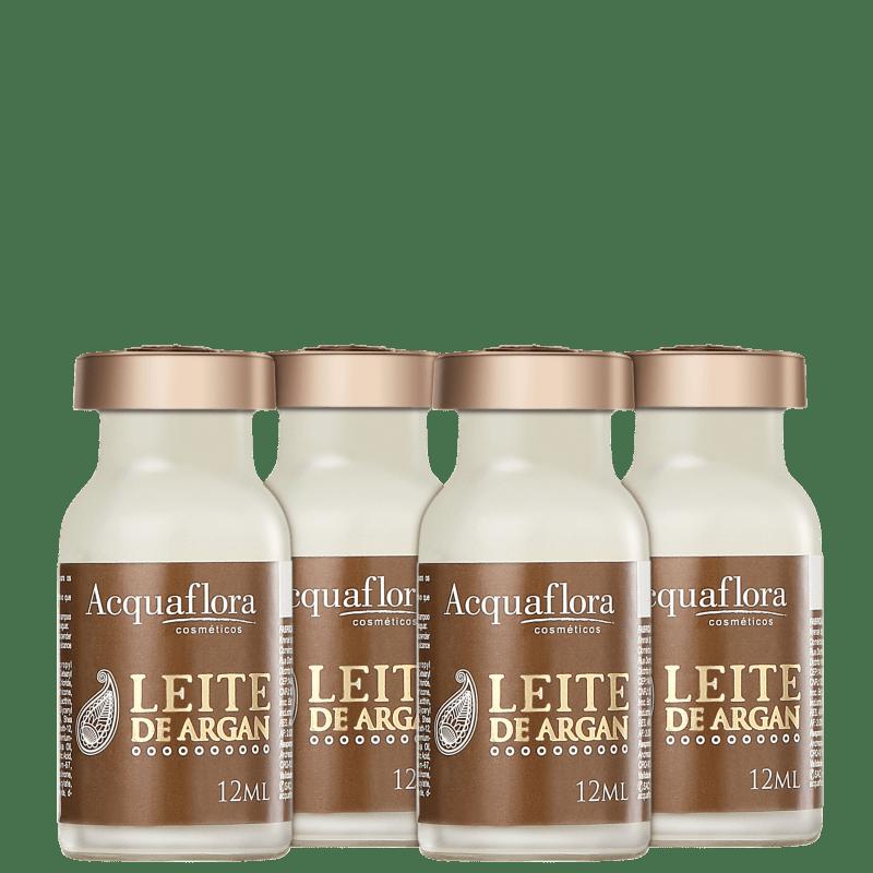 Acquaflora Leite de Argan - Ampola de Tratamento 4 x 12ml