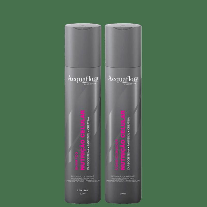 Acquaflora Nutrição Celular Duo Kit (2 Produtos)