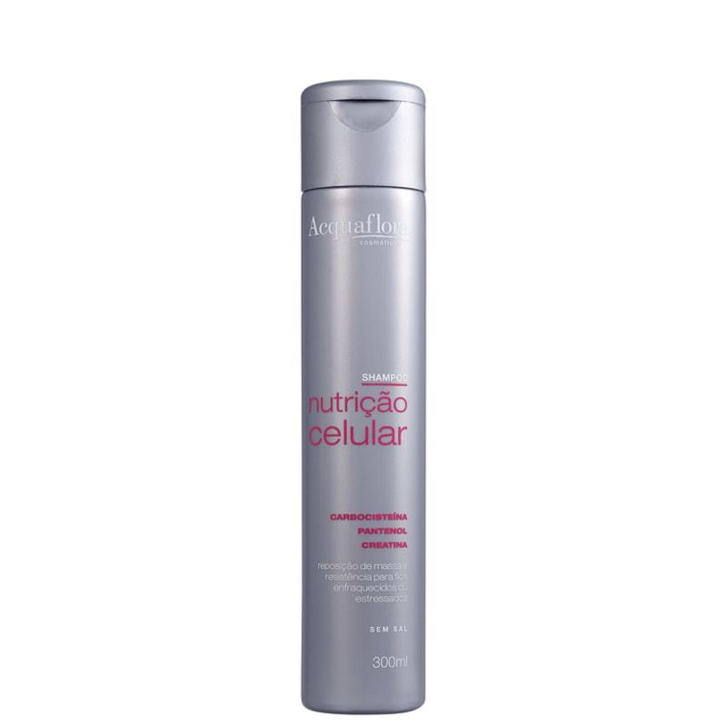 Acquaflora Nutrição Celular - Shampoo sem Sal 300ml
