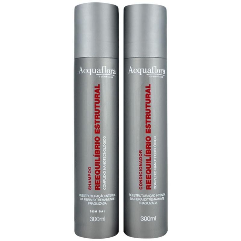 Acquaflora Reequilíbrio Estrutural Duo Kit (2 Produtos)
