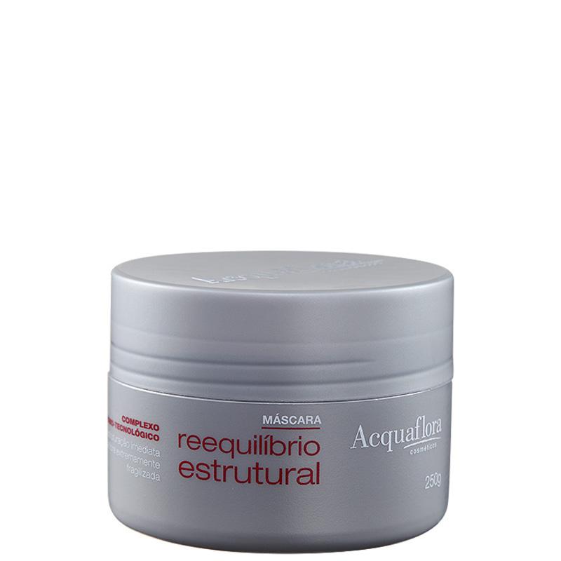 Acquaflora Reequilíbrio Estrutural - Máscara de Tratamento 250g
