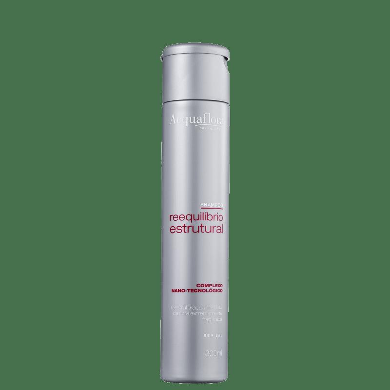 Acquaflora Reequilíbrio Estrutural - Shampoo sem Sal 300ml
