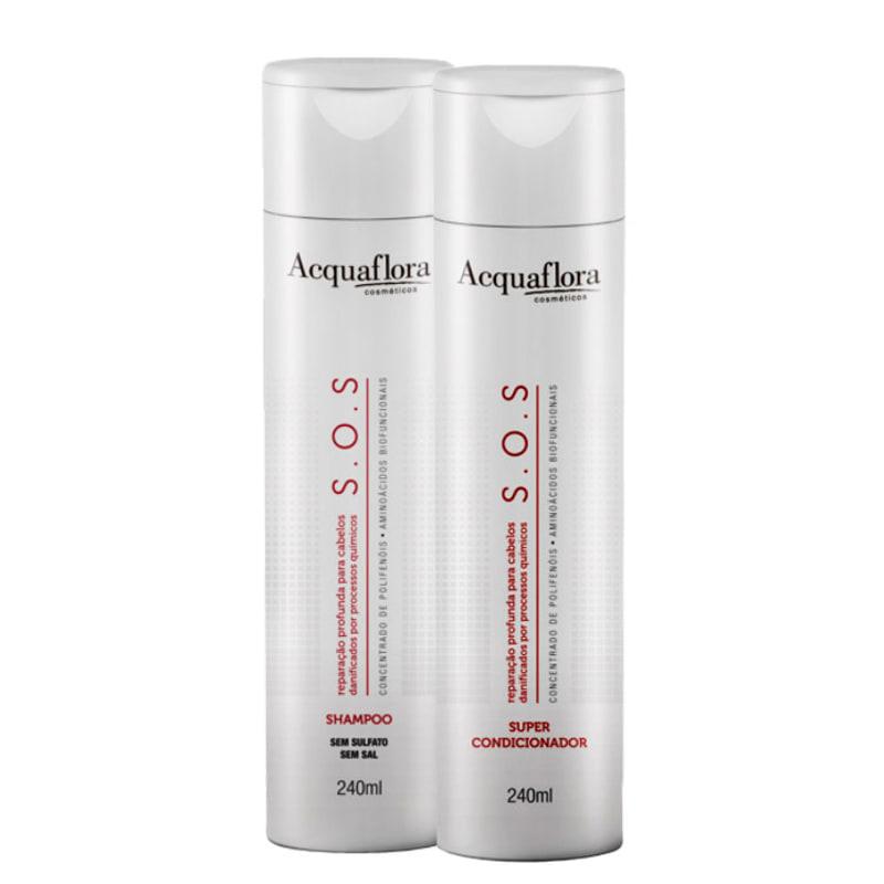 Acquaflora S.O.S Reparação Profunda Duo Kit (2 Produtos)
