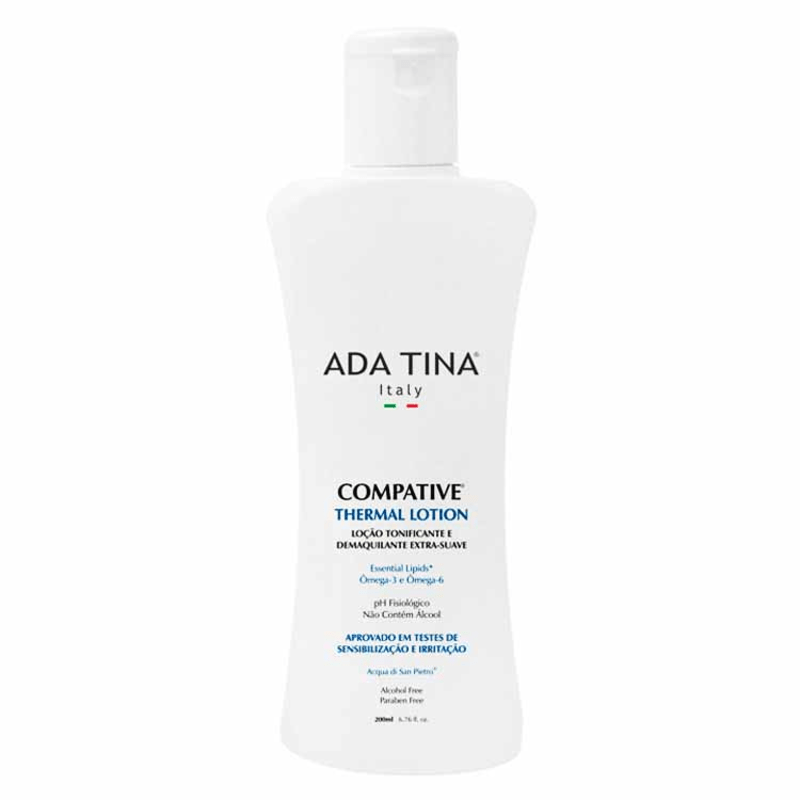 Ada Tina Compative Thermal Lotion - Tônico Facial 200ml