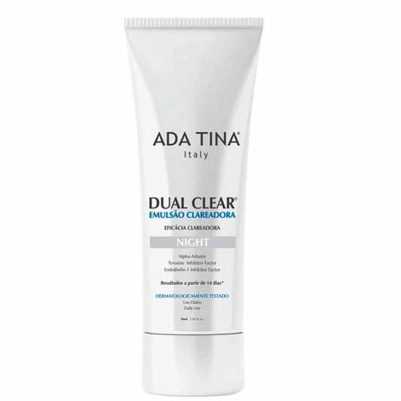 Ada Tina Dual Clear Night - Emulsão Clareadora de Manchas 30ml