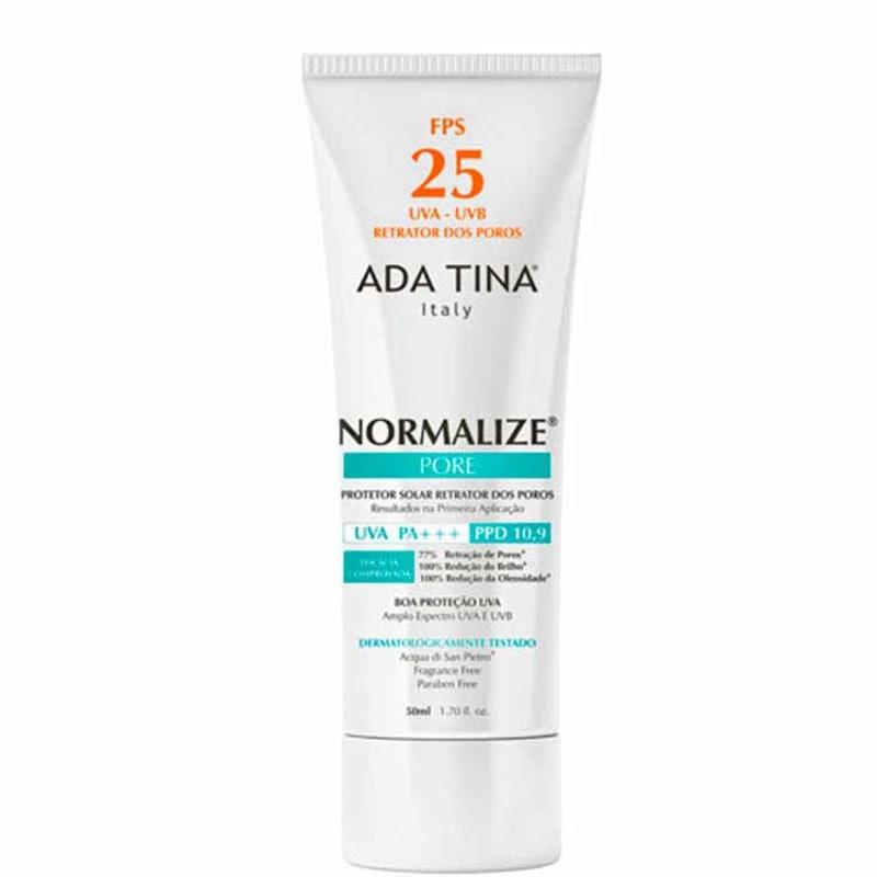 Ada Tina Normalize Pore FPS 25 - Protetor Solar Facial 50ml