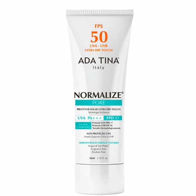 Ada Tina Normalize Pore FPS 50 - Protetor Solar Facial 50ml