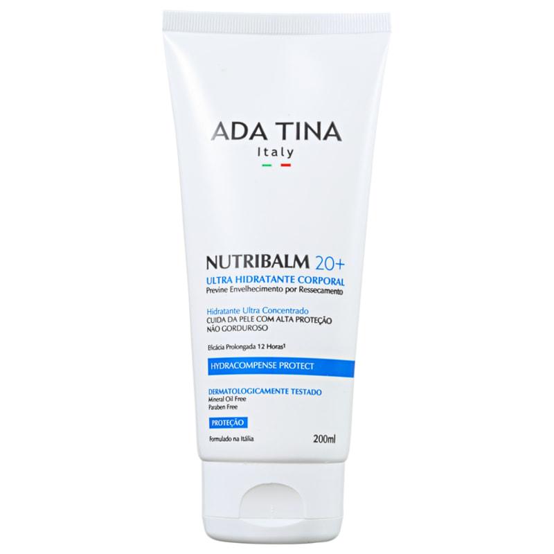 Ada Tina Nutribalm 20+ - Hidratante Corporal Anti-Idade 200ml