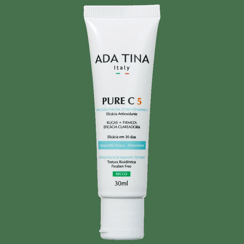 Ada Tina Pure C 5% - Emulsão Anti-Idade 30ml