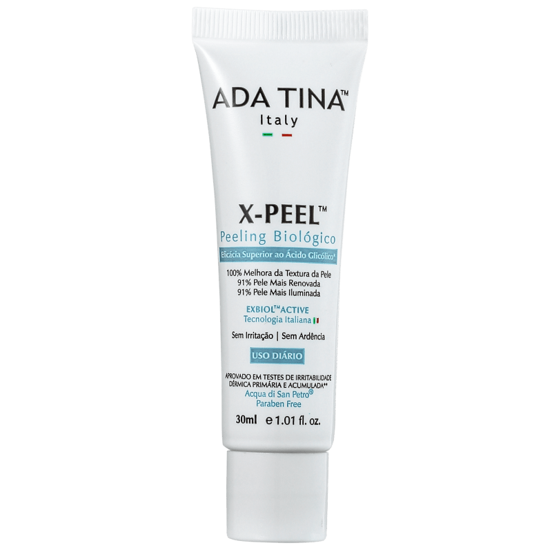 Ada Tina X Peel Peeling Biológico - Tratamento Facial 30ml