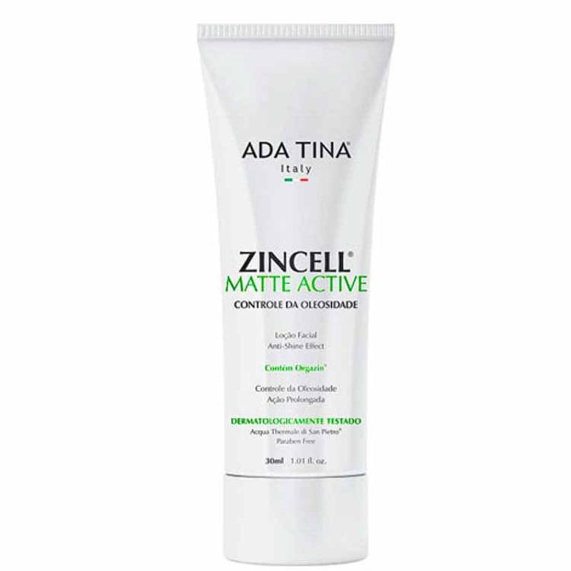 Ada Tina Zincell Matte Active - Loção Facial Matificante 30ml