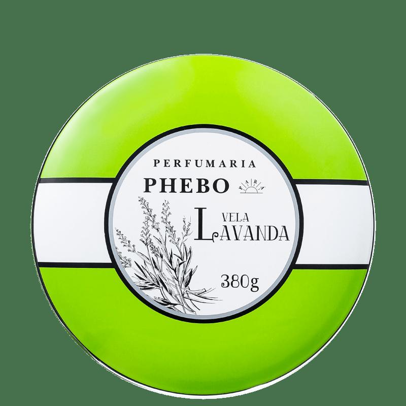 Águas de Phebo Lavanda - Vela Perfumada 380g