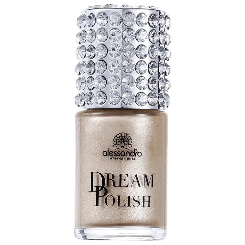 Alessandro International Dream Polish Golden Diva - Esmalte Cintilante 15ml
