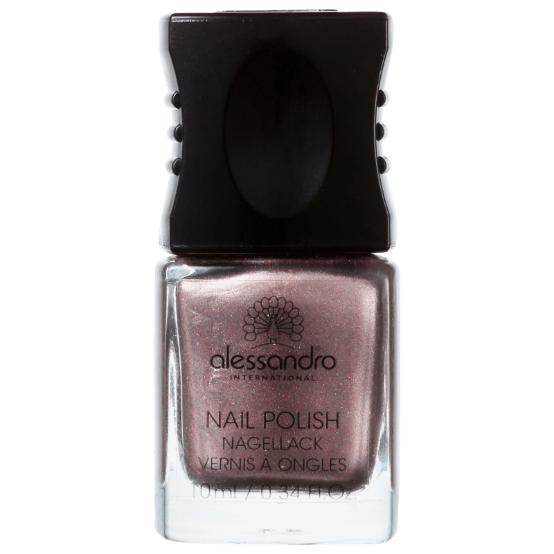 Alessandro International Nail Polish Brown Metallic - Esmalte Metálico 10ml