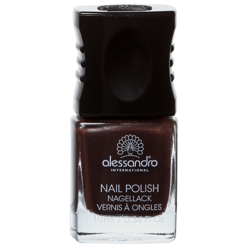 Alessandro International Nail Polish Espresso - Esmalte Cremoso 10ml