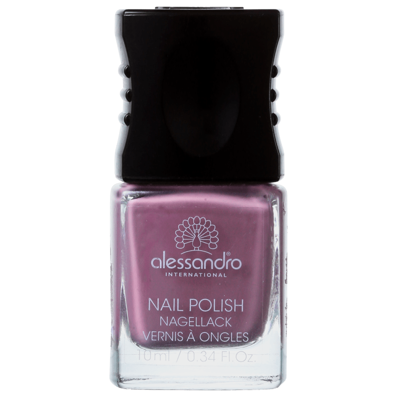 Alessandro International Nail Polish Plum Cake - Esmalte Cremoso 10ml