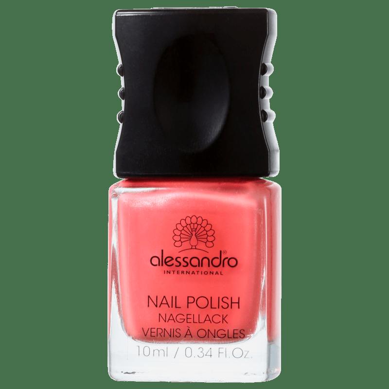 Alessandro International Nail Polish Pumpkin - Esmalte Cremoso 10ml