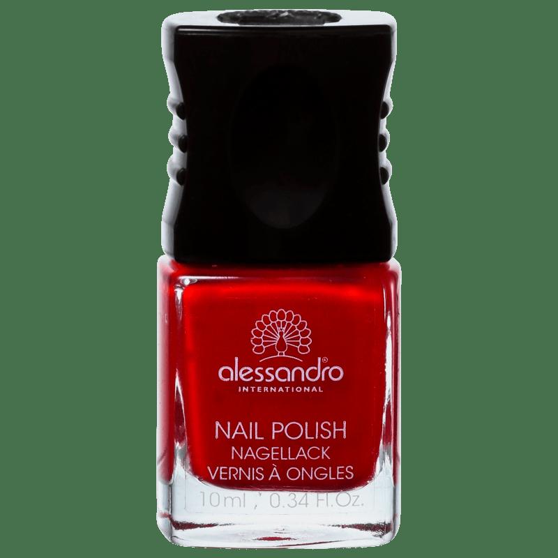 Alessandro International Nail Polish Secret Red - Esmalte Cremoso 10ml