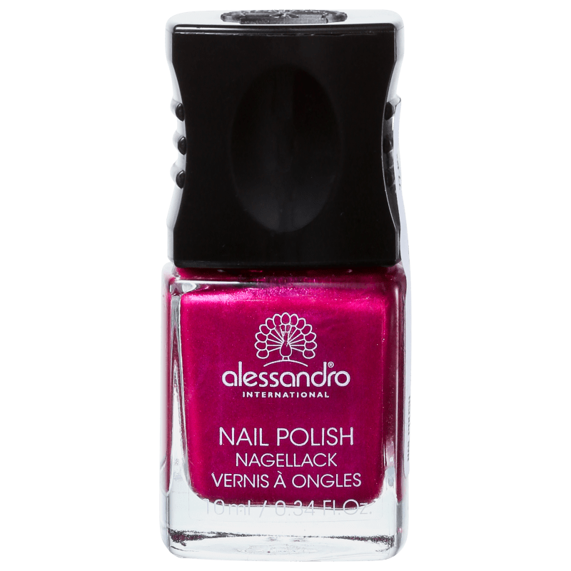 Alessandro International Nail Polish Shiny Rubin - Esmalte Cintilante 10ml
