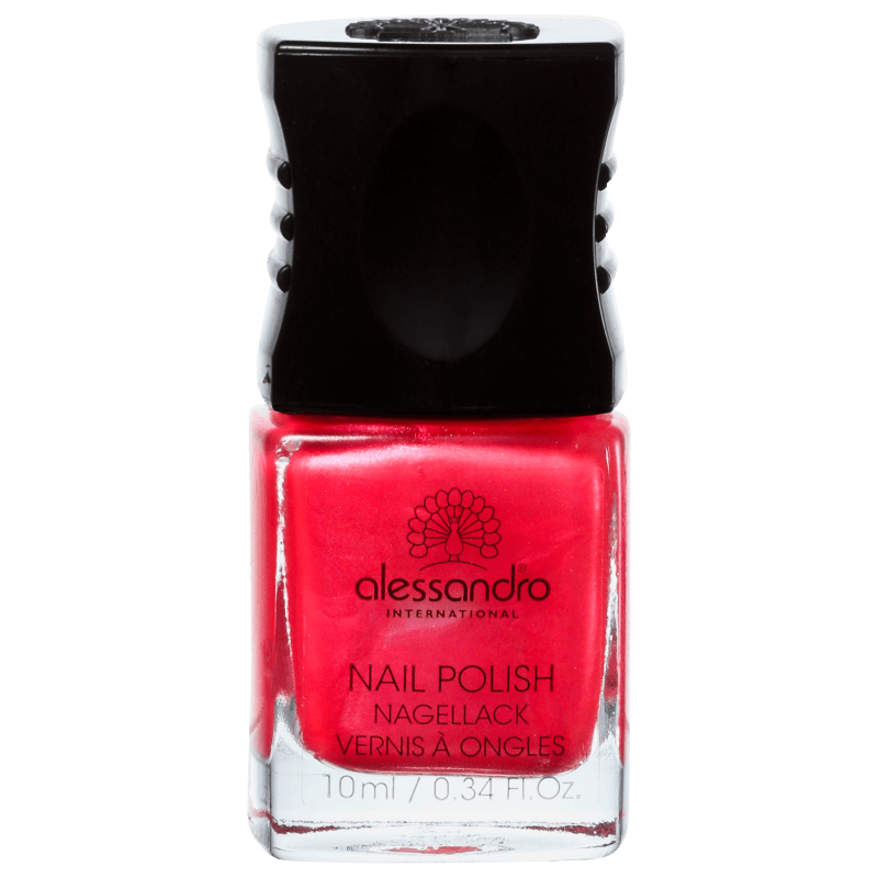 Alessandro International Nail Polish Shiny Strawberry - Esmalte Cremoso 10ml