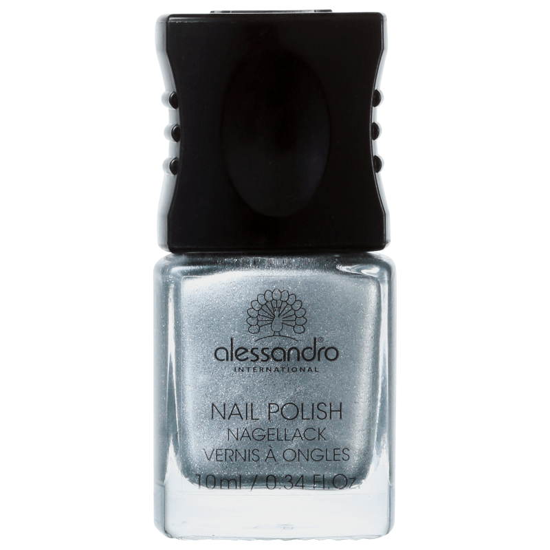 Alessandro International Nail Polish Silver Moon - Esmalte Metálico 10ml