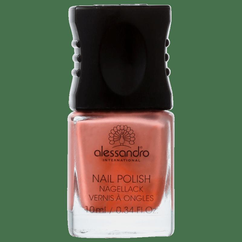 Alessandro International Nail Polish Toffe Nut - Esmalte Cremoso 10ml