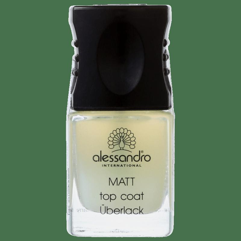 Alessandro International Top Coat Matt - Base de Cobertura Matte 10ml
