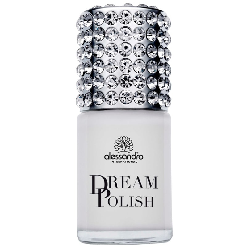 Alessandro International Dream Polish Cashmere White - Base Fortificante para Unhas 15ml